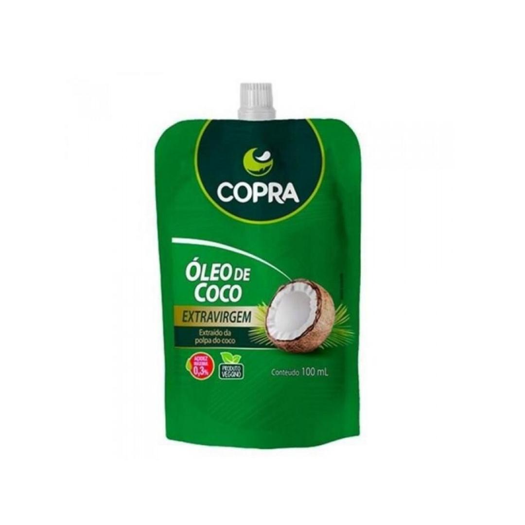 Óleo de Coco Extravirgem Pouch 100ML Copra