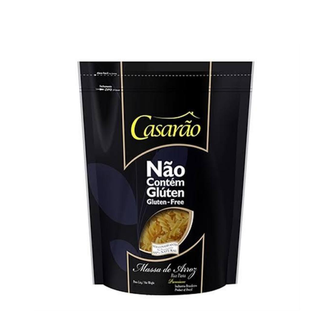 Massa de Arroz Premium Fusilli 200g Casarão