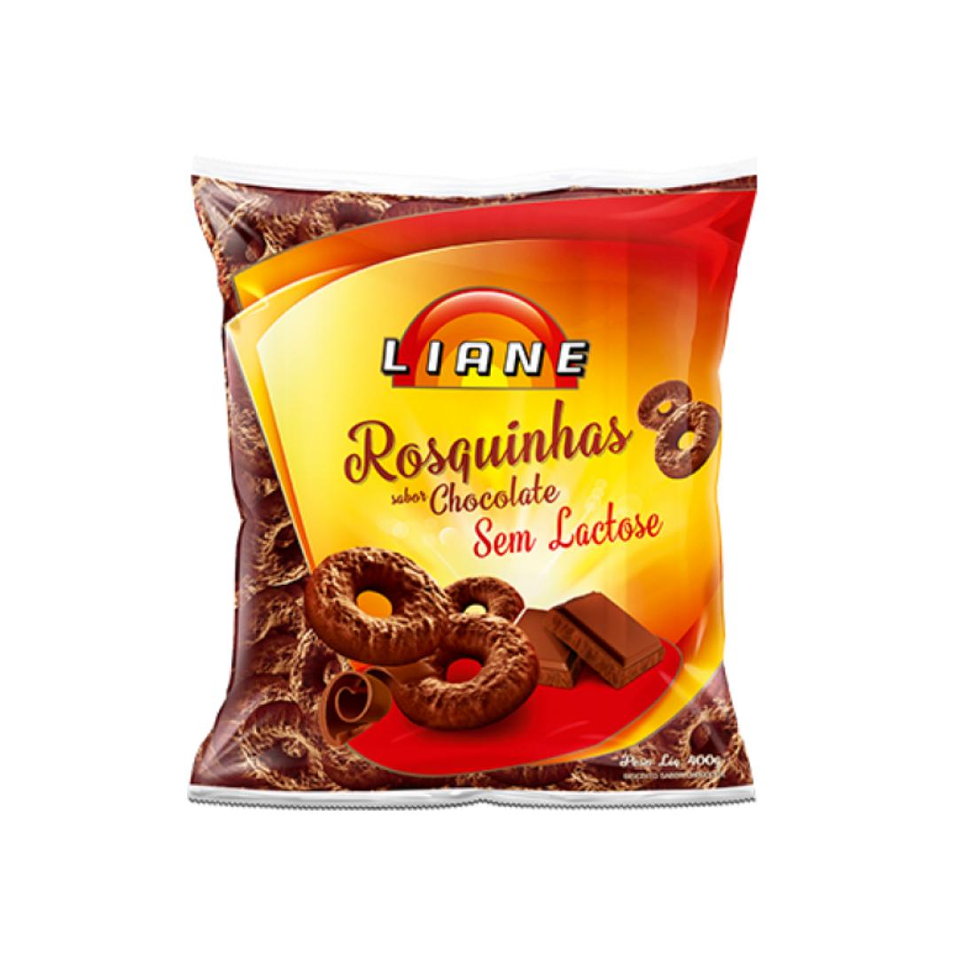 Rosquinha Chocolate 400g Liane