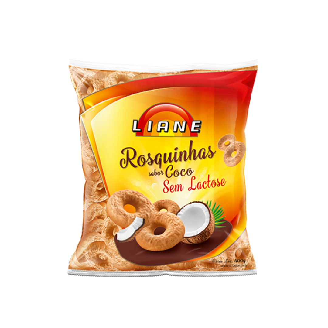 Rosquinha Coco 400g Liane