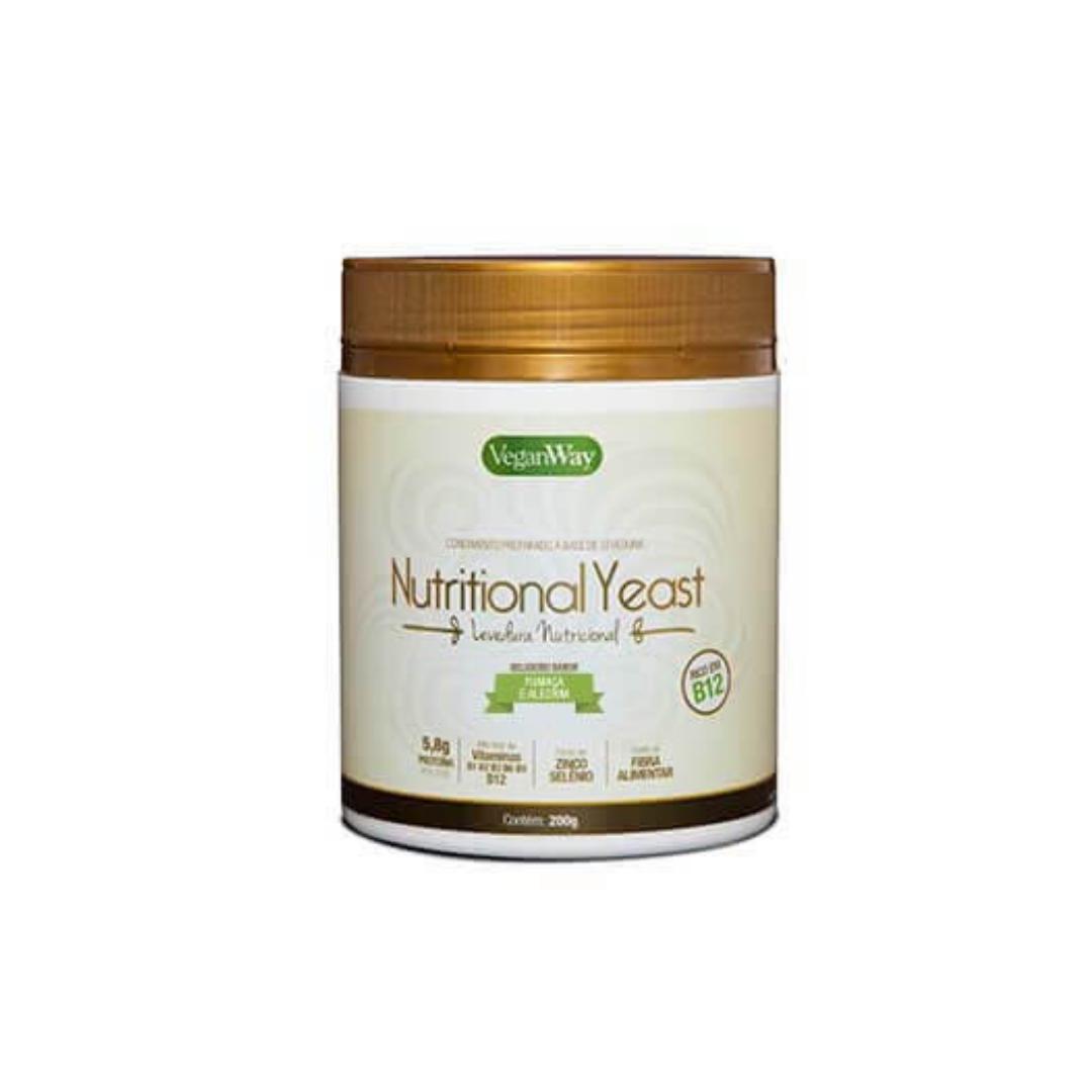 Levedura Nutricional sabor Fumaça e Alecrim Yeast 200g VeganWay