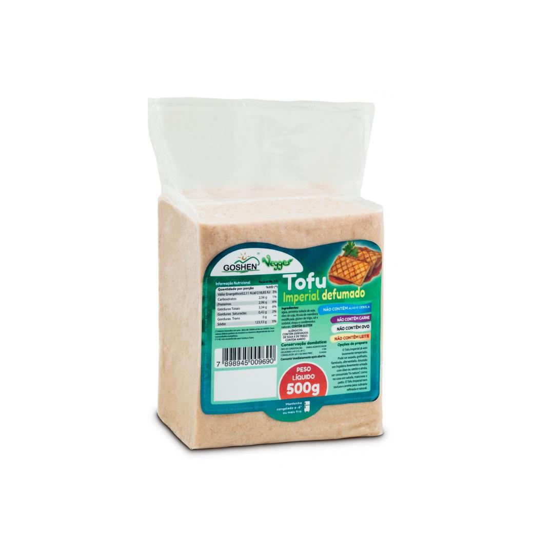 Tofu Imperrial Defumado 500g Goshen