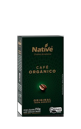 Café Orgânico moído Original 250g Native