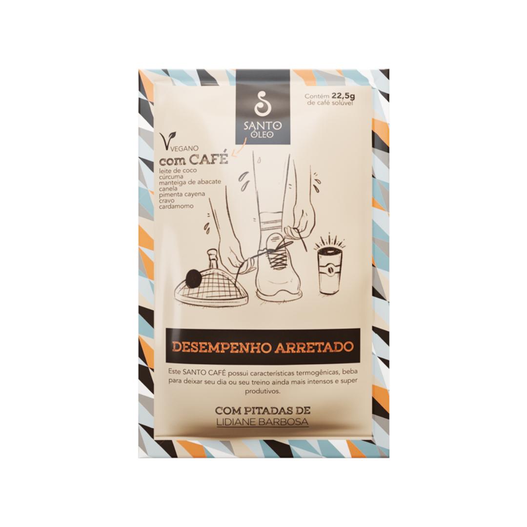 Café solúvel Desempenho Arretado 22,5g Santo Óleo