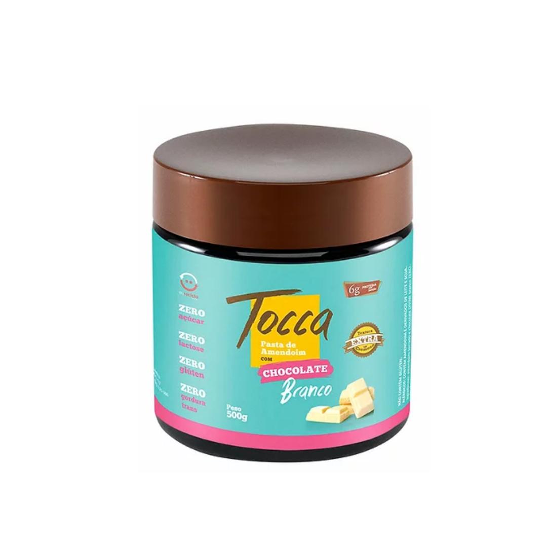 Pasta de Amendoim Chocolate BRANCO ZERO 500g Tocca
