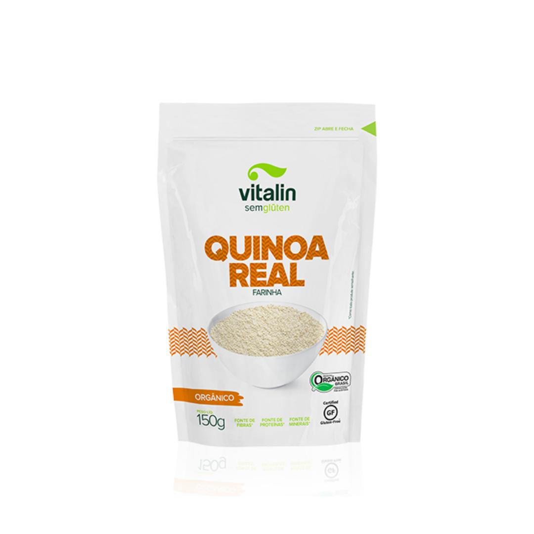 Quinoa Real Farinha Orgânico 150g Vitalin