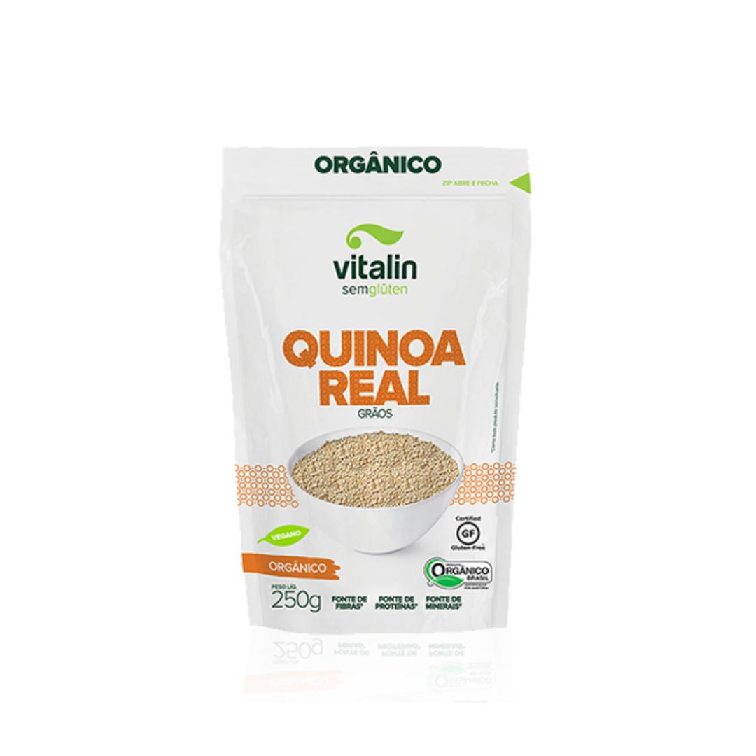 Quinoa Real Grãos Orgânico 250g Vitalin