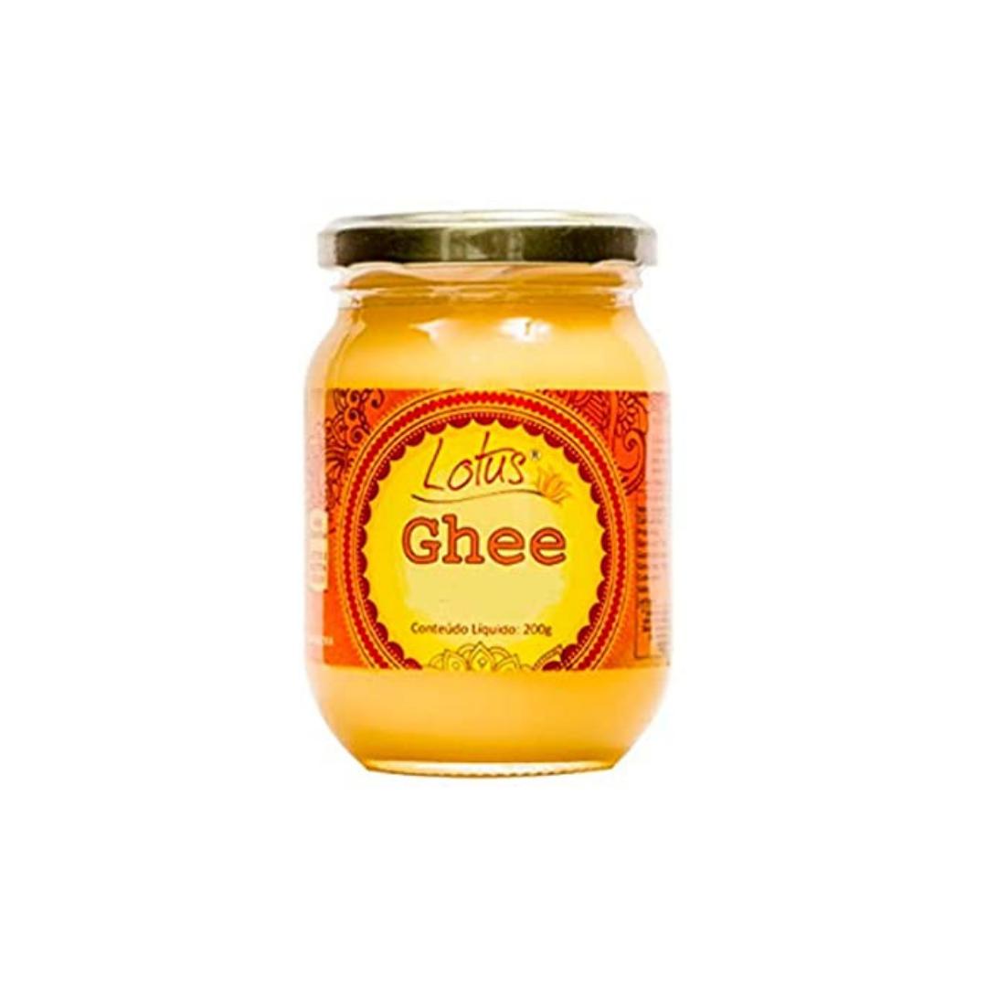 Manteiga  Clarificada Ghee 200g Lotus - Sem Lactose