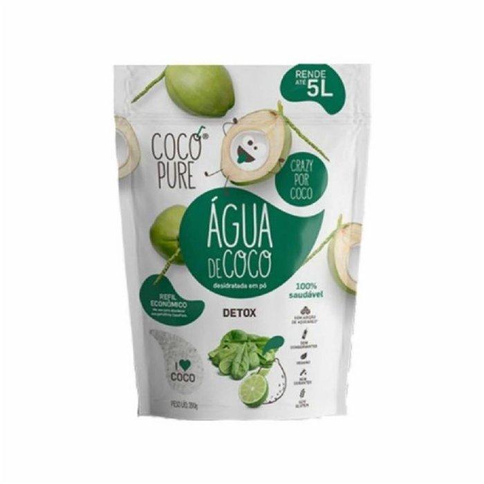 Água de Coco Detox 200g Refil Cocopure