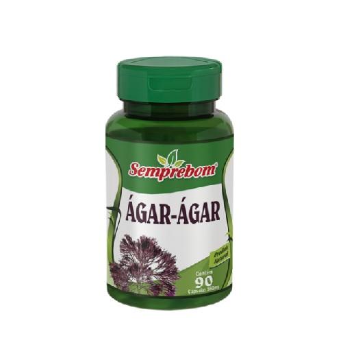 Ágar-Ágar 90 cápsulas 500mg SempreBom