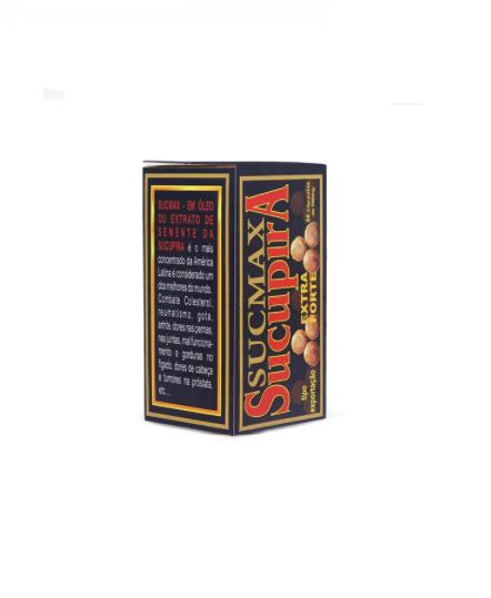 Sucupira Extra Forte 60 cápsulas 500mg Sucmax