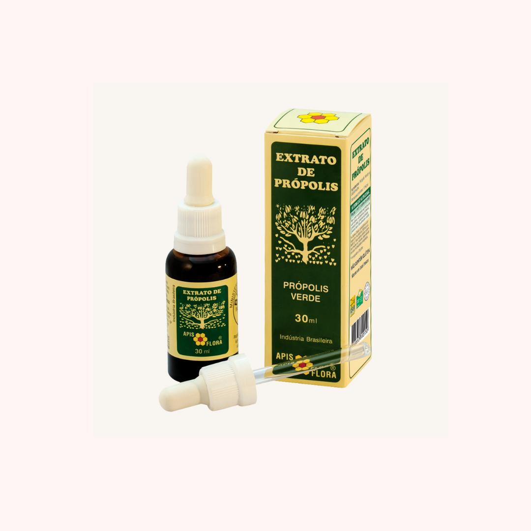 Extrato de Própolis Verde 30 ml Apis Aflora