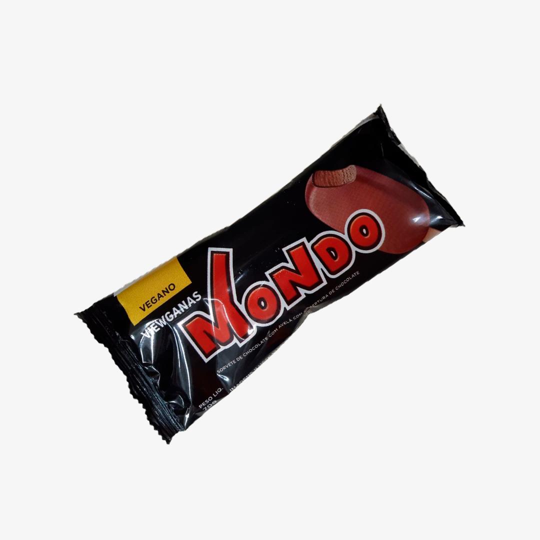 Sorvete Vegano Chocolate Com Avela 70Gg Mondo