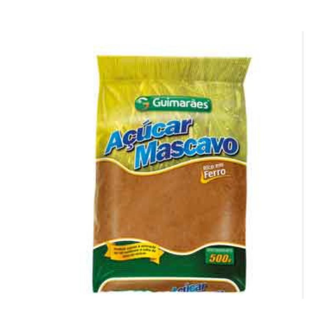 Açúcar Mascavo  500g Guimarães