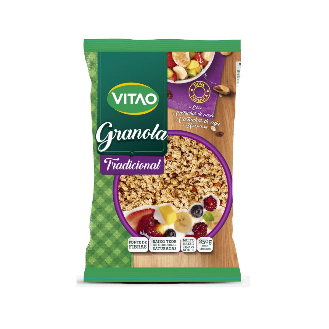 Granola Tradicional Com Castanhas Vegana 250g Vitao