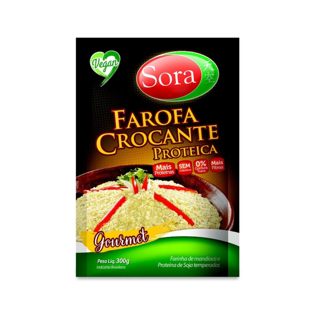 Farofa crocante Gourmet 300g Sora