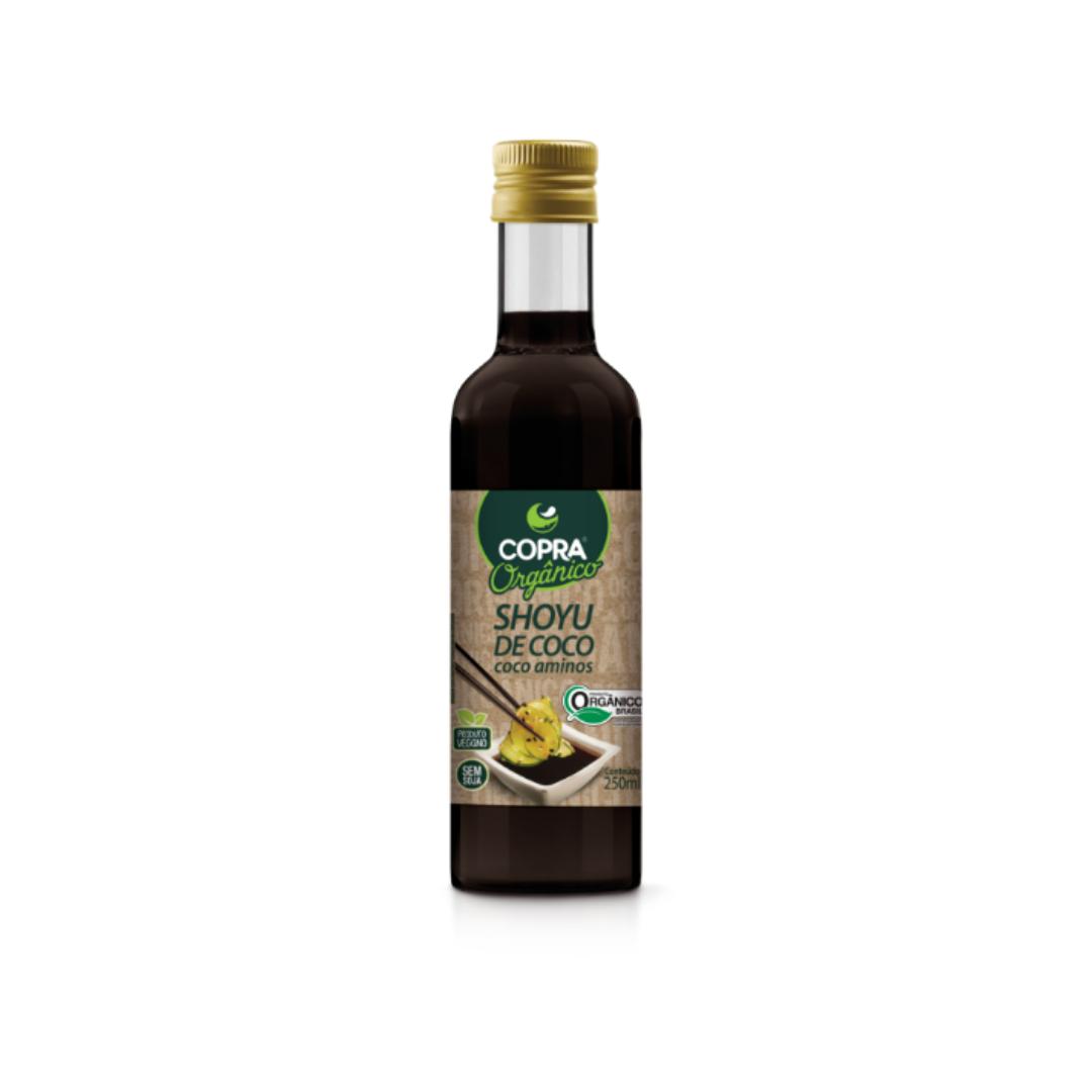 Shoyu de Coco Orgânico 250ml Copra