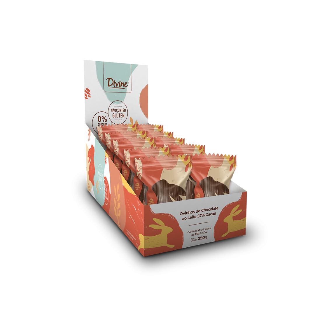 Ovinho Chocolate ao Leite 37% 25g Divine