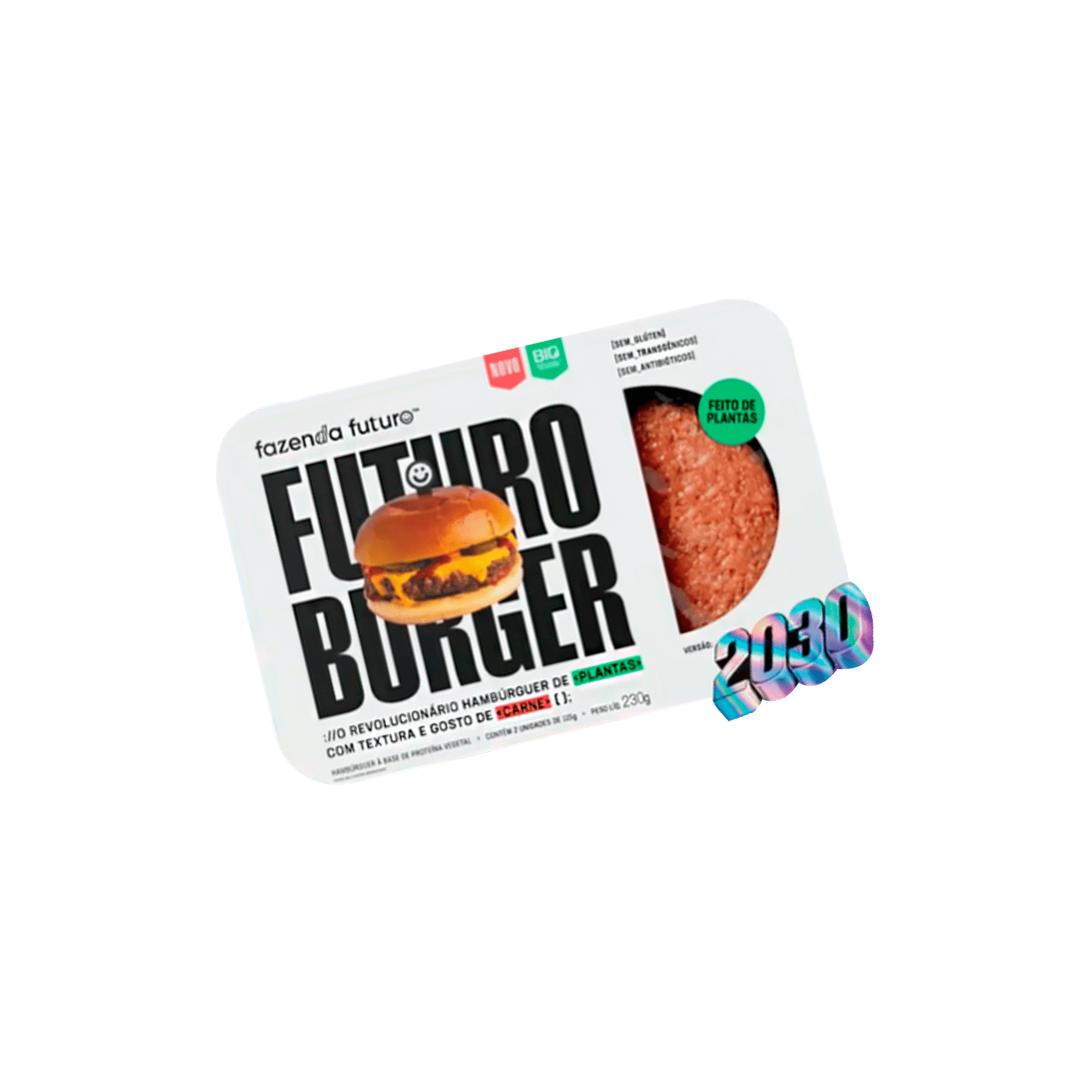 Hambúrguer Carne Vegetal 2030 230g Fazenda Futuro